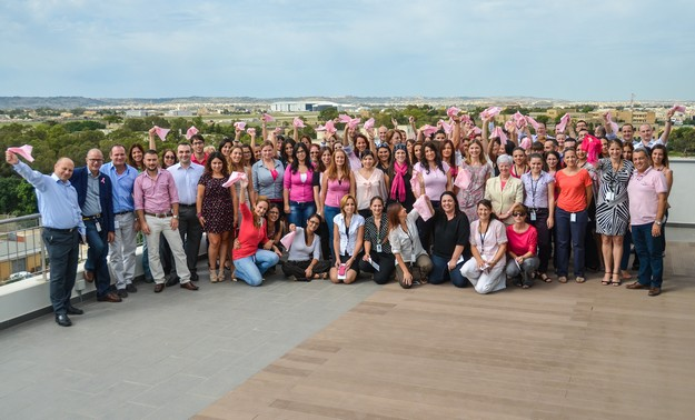 Vodafone assists the Breast Care Support Group Europa Donna Malta