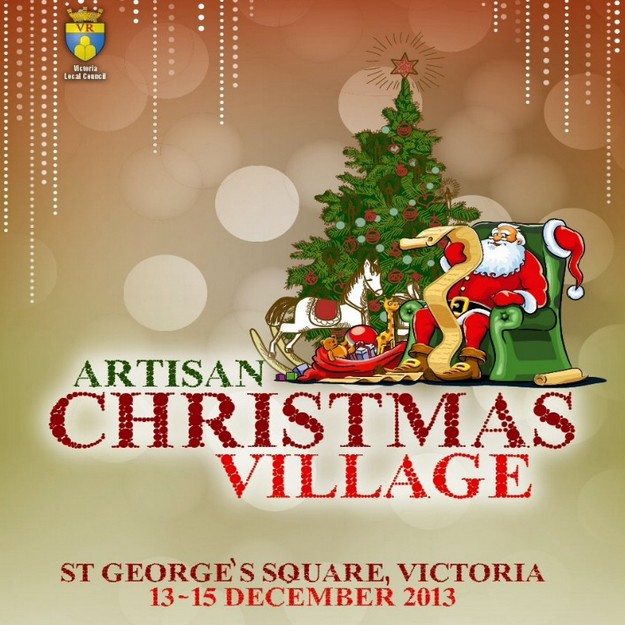Artisan Christmas Village opening this Friday in St George's Square, Victoria