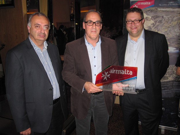 Air Malta names Top Travel Agent in Malta: Britannia Services