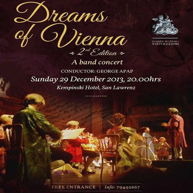 'Dreams of Vienna' Ghaqda Muzikali Vizitazzjon end of year concert