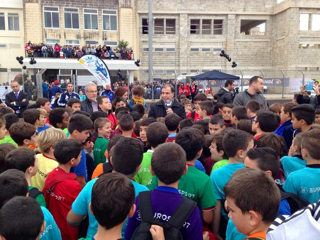 €12,000 raised for l-Istrina after EuroSport Football Nursery Fun Event