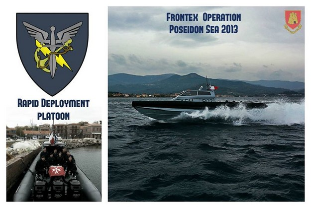 AFM specialised team return from Frontex operation in Greek waters