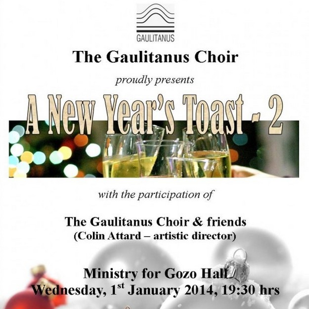 Gaulitanus Choir New Year's Day concert - 'A New Year's Toast -2'