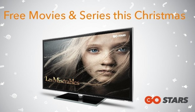 Festive specials available to all GO TV customers this Christmas