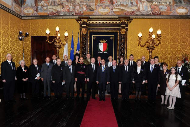 Carmen Bellamy of the Gozo CCU Foundation awarded National Order of Merit