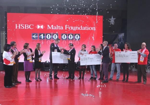 HSBC Malta Foundation supports l-Istrina with €100,000 donation