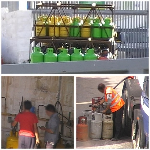 Easygas accused of illegally filling Liquigas gas cylinders