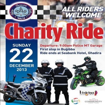 Hit the road for charity this Sunday with the Malta Police Force