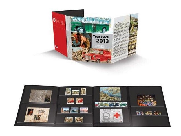 MaltaPost launches the Year Pack including all Stamp Sets issued in 2013