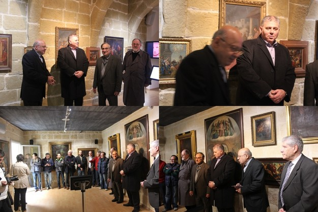 Exhibition of paintings on the Nativity inaugurated at Heart of Gozo Musem