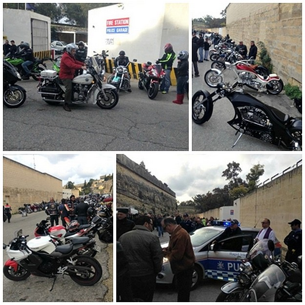 Over €3,000 raised for Istrina during Police Motorcycle Charity Ride