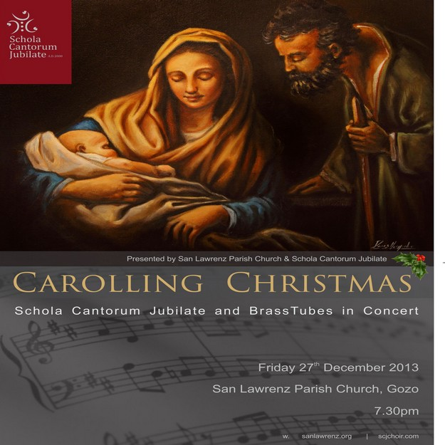 Schola Cantorum Jubilate 'Carolling Christmas' concert in San Lawrenz