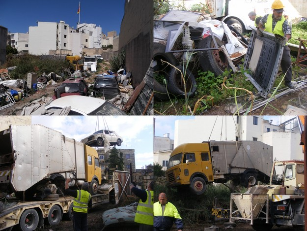 MEPA takes direct action against illegal scrapyard in Siggiewi residential area