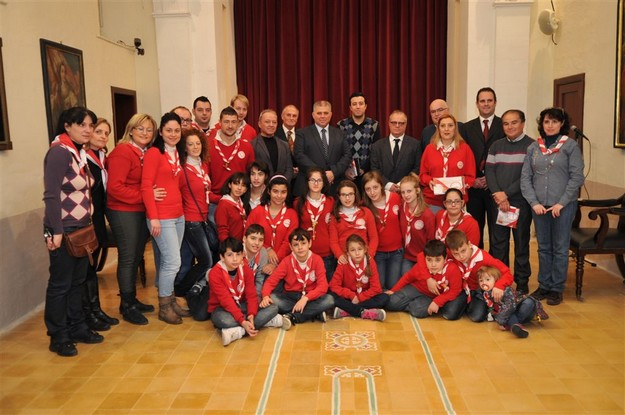 Tolfa delegation in Gozo to take part in Bethlehem f'Ghajnsielem