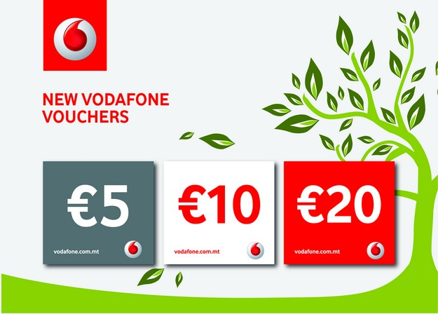 Vodafone's new pre-paid cards are now more environmentally friendly