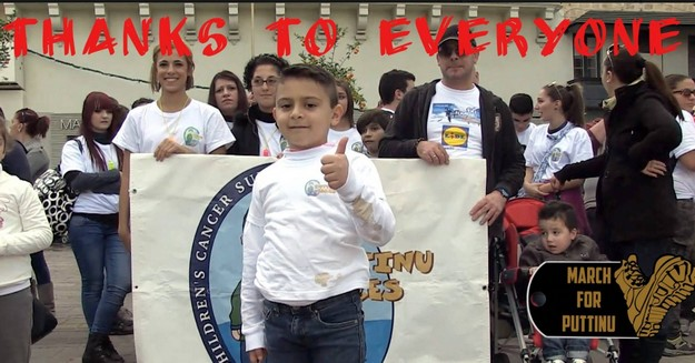 AFM'S March for Puttinu raises €21,967.62 for Puttinu Cares