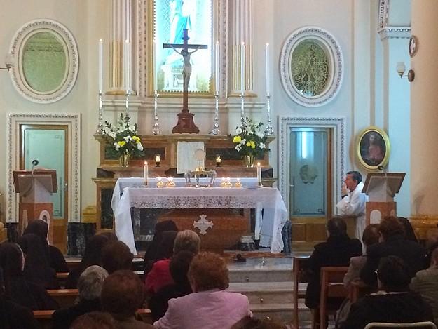 Bishop Grech holds Prayer Vigil for Madre Margherita De Brincat