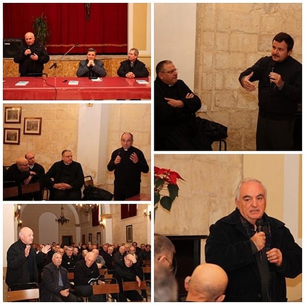 Gozo Bishop exchanges New Year greetings with Gozitan priests