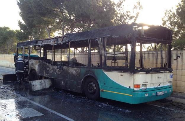 Malta Public Transport launches investigation into bus fire