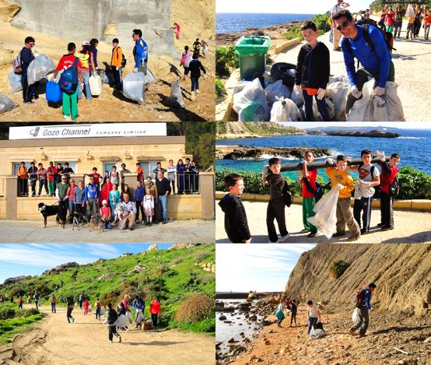 Gozo 'hike & clean up' continues with yet another successful day