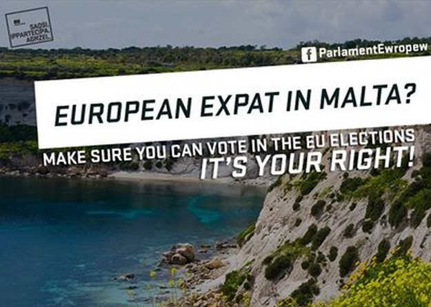 EU expats living in Malta must register to vote in European Elections