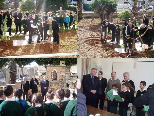 Celebrating green success at Xewkija Primary School