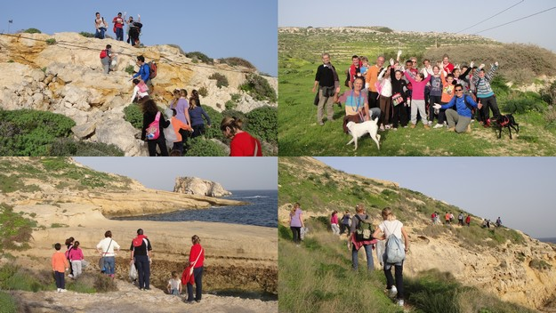 The 'Gozo-Rocks-Green & Clean Hike' is now going ahead today