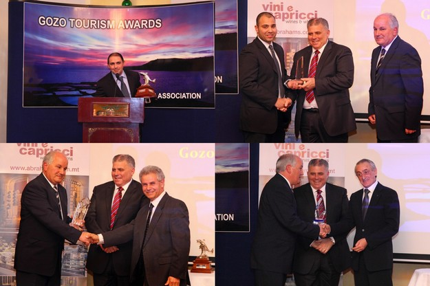 George Borg wins Gozo Tourism Worker of the Year 2013