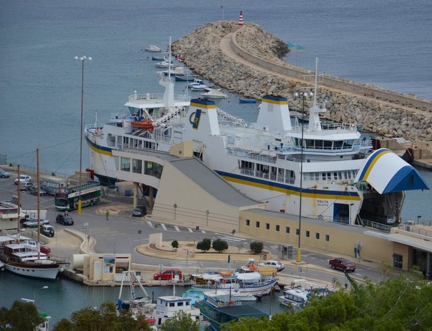 Gozo Channel ferry trips cancelled due to adverse weather conditions