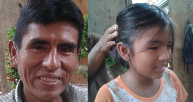 Hearing aid gratefully received at the Santa Rosa Mission