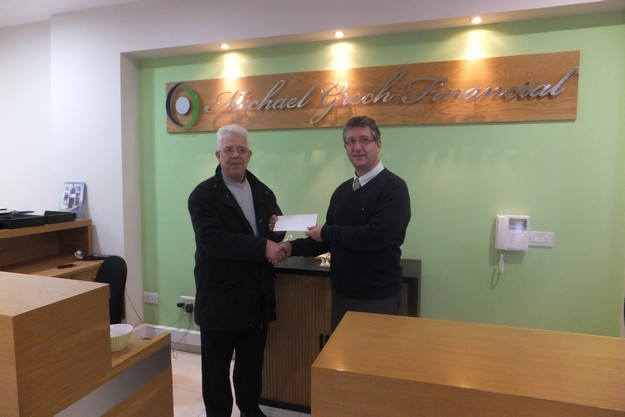 OASI Foundation receives donation from local enterprise