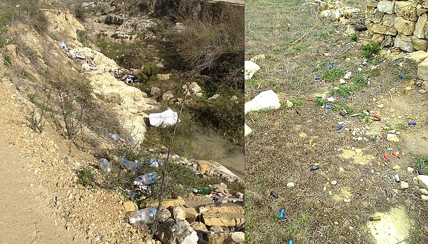 Rubbish strewn hike from Xatt L'Ahmar to Dwejra - Readers Letter