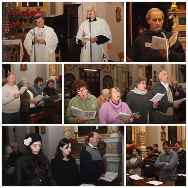 Ecumenical Service held at St. Augustine's Church in Victoria