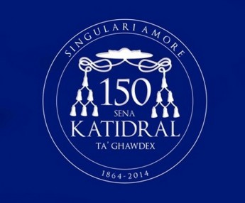 New logo celebrates 150th anniversary of the Gozo Cathedral