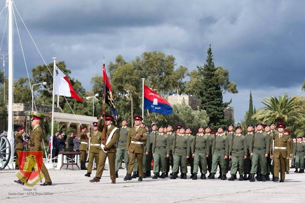 72 AFM recruits graduate in 'pass-out' parade at Luqa