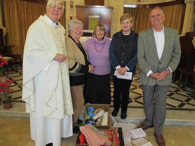 The Anglican Parish in Gozo supports the Order of Malta relief work