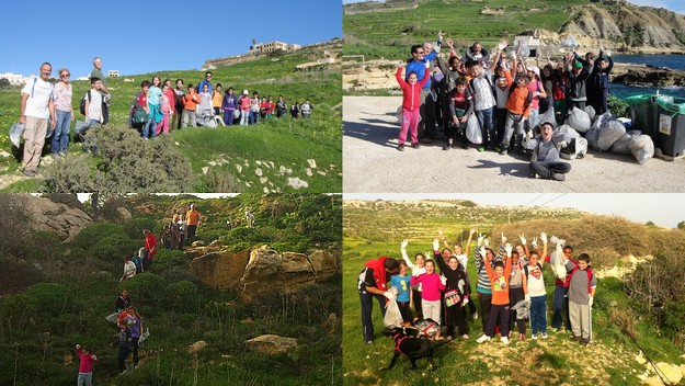 'Gozo-Rocks-Green & Clean Hike' on Sunday, everyone is welcome