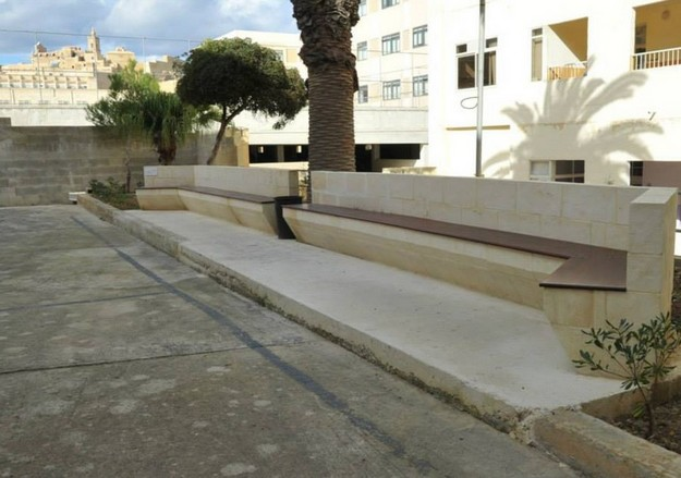 Gozo College Girls' Secondary completes embellishment of open area