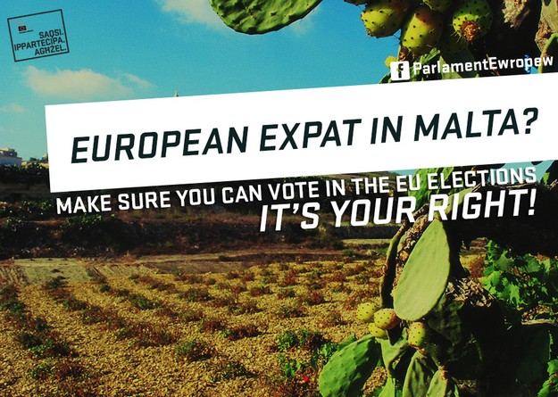 Eligibility of EU expats living in Malta to vote in European Elections