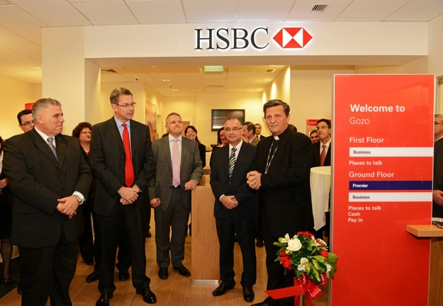 HSBC Malta reopens its upgraded branch in Victoria Gozo