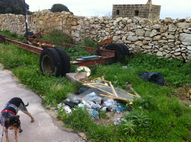 15 bags of rubbish collected on Sunday's Gozo-Rocks-Green & Clean Hike