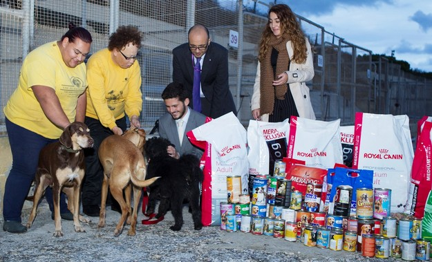 Banif Sports & Social Committee donate food to Island Sanctuary