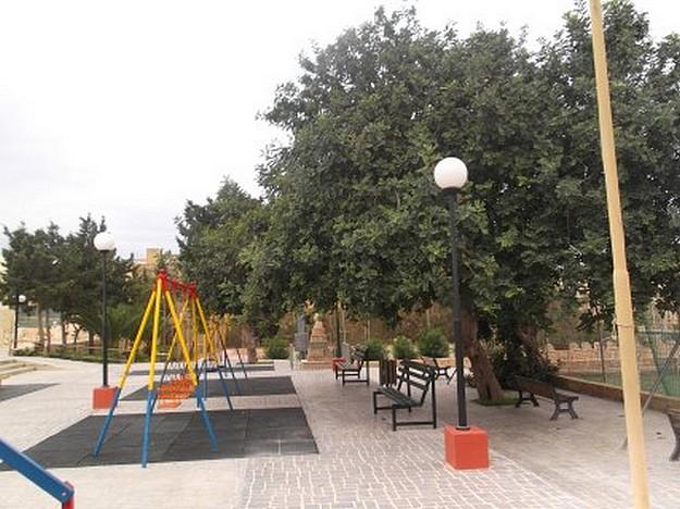 Kercem Council project to refurbish children's play ground