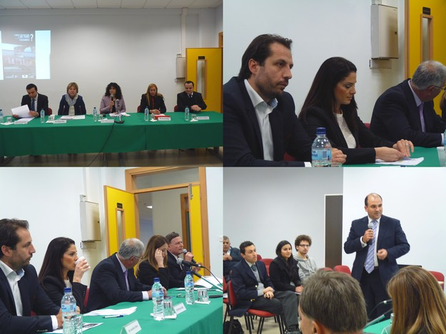Discussion in Gozo with candidates for the European Parliament