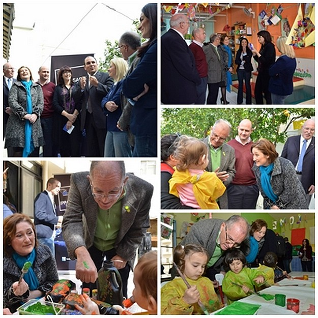 MEP candidates visit childcare centre: Focus on women in the workplace