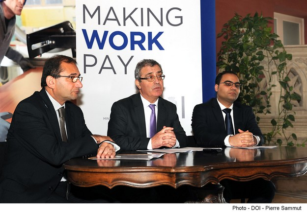 'Making Work Pay,' aimed at helping people get into employment