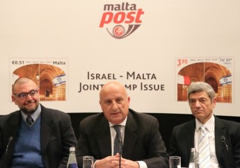 MaltaPost celebrates the Malta and Israel joint stamp issue