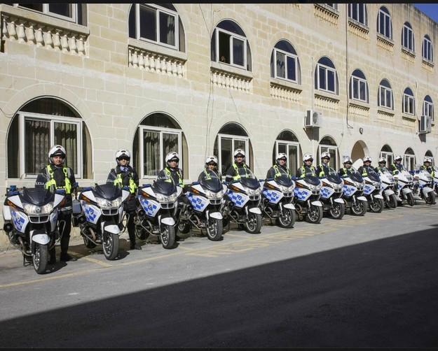 Gozo and Malta Traffic Police Branches receive new motorbikes