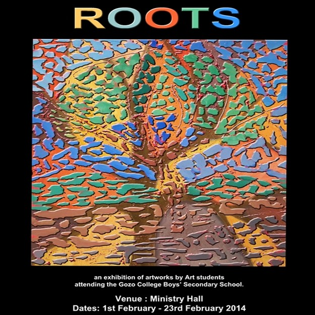 'ROOTS' - Artworks by Gozo College Boys' Secondary School students