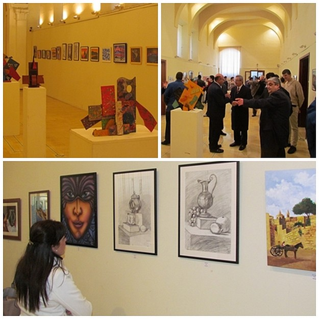 'Roots' collective exhibition by Gozo College Boys' Secondary School